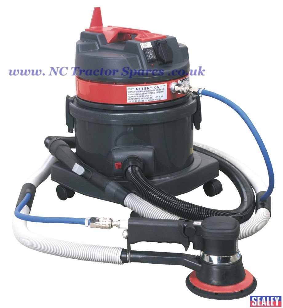 Dust-Free Vacuum System with MA150AS Air/Electric